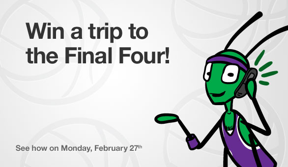 Win a Trip to the Final Four from Grasshopper