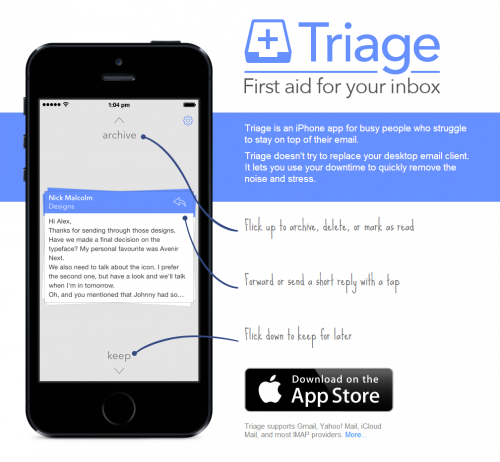 triage iphone