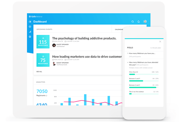 GoToWebinar Review: Analytics