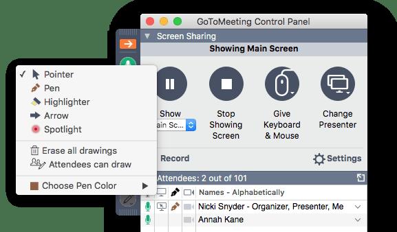Meeting & Screen Share Drawing Tools | GoToMeeting