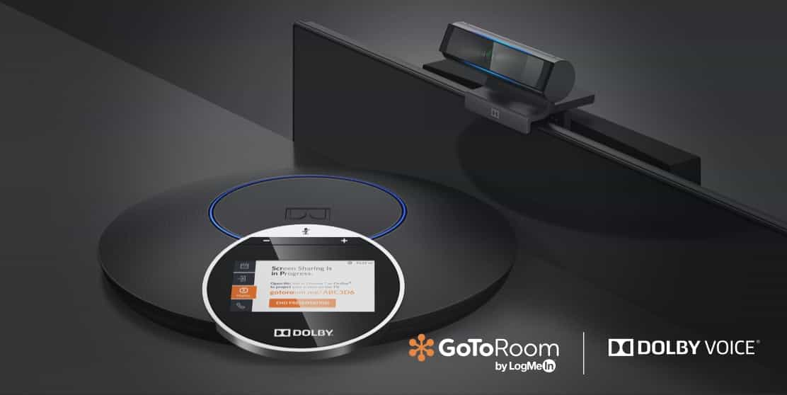 GoToRoom sessions powered by Dolby Voice equipment