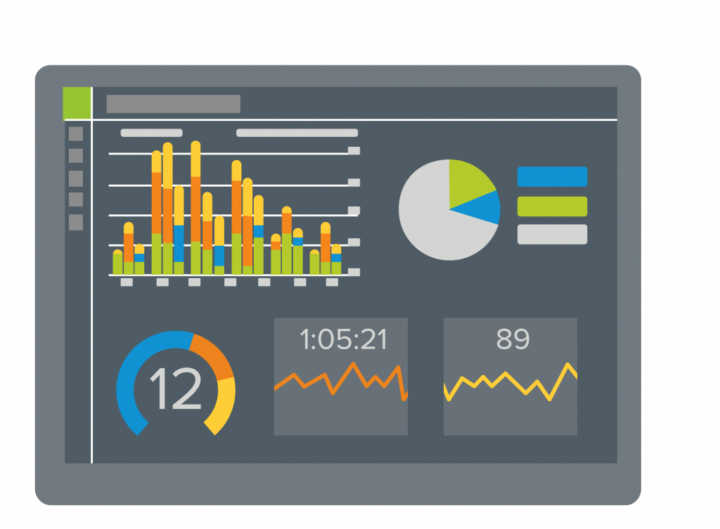 Call analytics displayed on a wallboard can help promote business transparency.