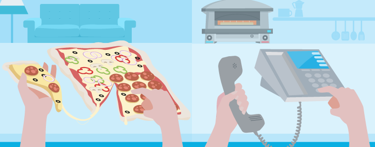 pizza phone systems
