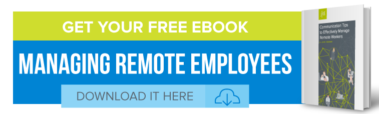 remote worker ebook ad