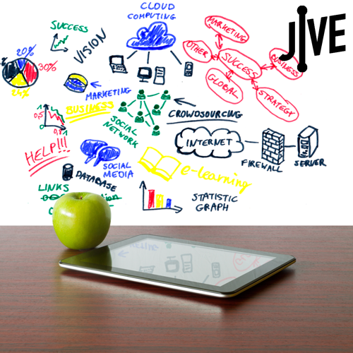 Jive leader in cloud Education technology - Calnet
