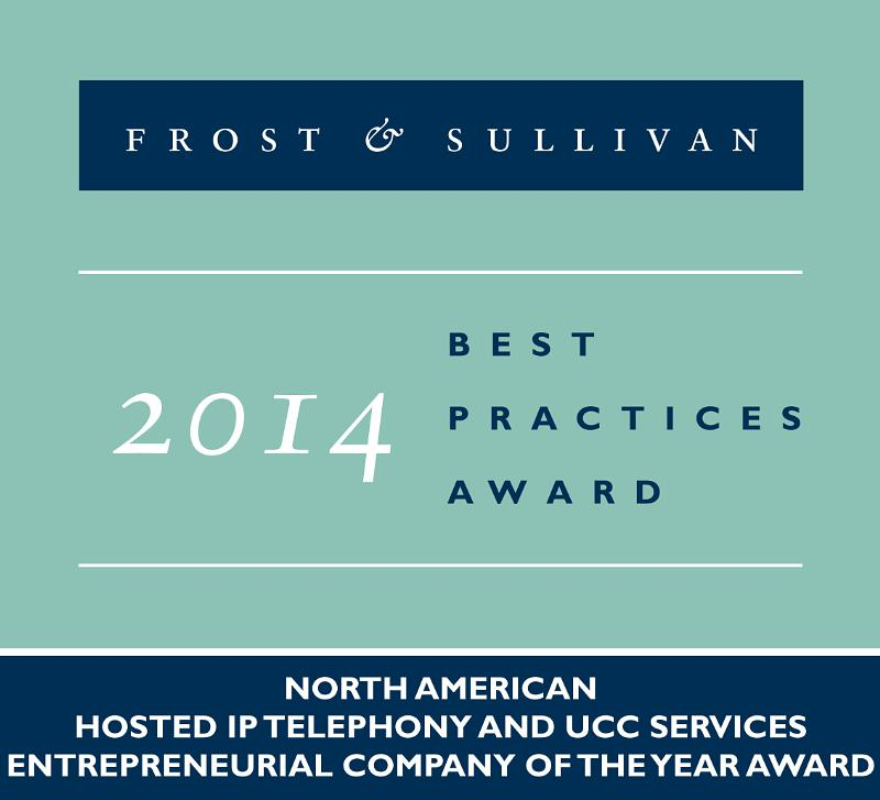 Frost and Sullivan Jive Communications Logo