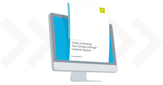 3 Keys to Growing Your Company through Customer Service Whitepaper