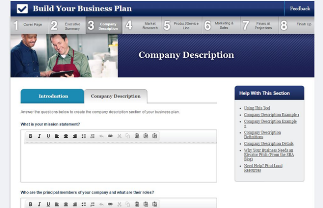 How to write a business plan in 2016 plus templates sba business plan template wajeb Images