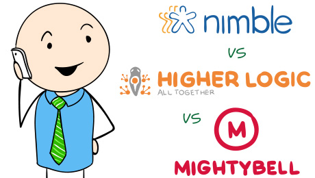 Nimble vs. Higher Logic vs. Mightybell - Social Community Comparison