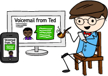 Read your voicemail