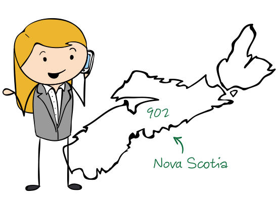 Nova Scotia Numbers