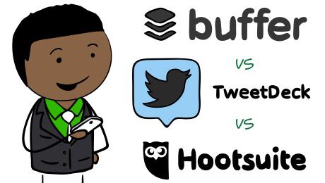 Buffer vs TweetDeck vs Hootsuite - Compare Social Media Tools