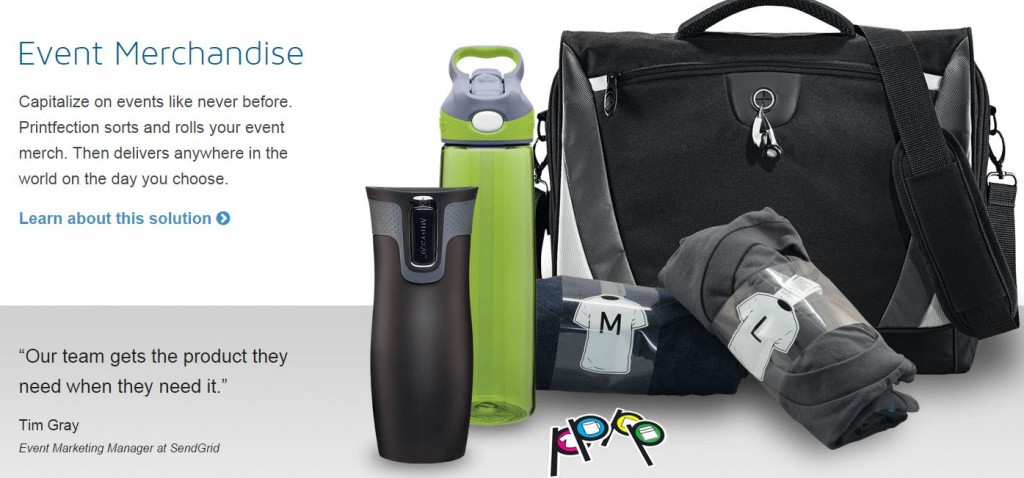 c1506a66 For those who want their promotional items handled externally, Printfection  offers a solution that handles the whole process--from ordering to  fulfillment.