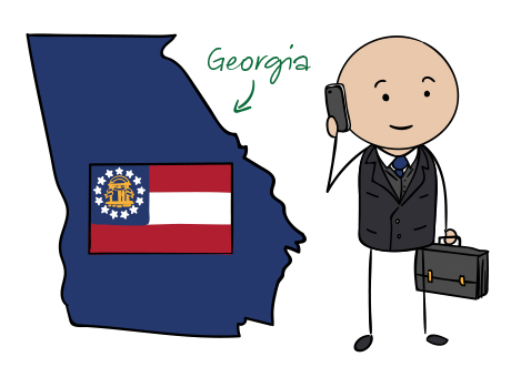 Georgia (GA) Phone Numbers - Local Area Codes 229, 404, 470, 478 ...