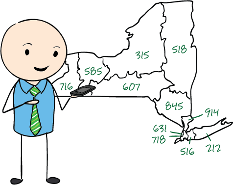 Virtual Local Numbers Throughout the US Grasshopper Virtual