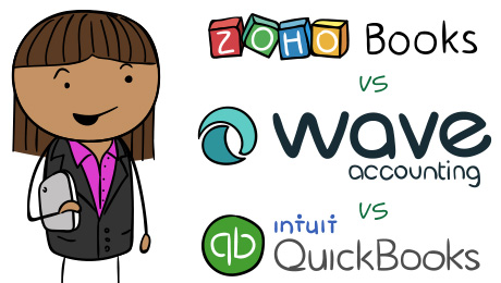Wave vs Zoho vs QuickBooks - Account Software Comparison