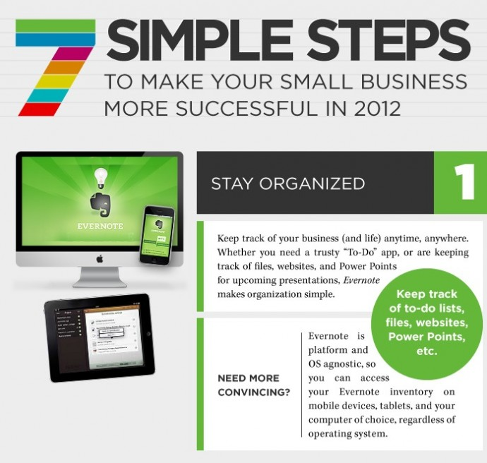 Office Suites PLUS: Small business success tips infographic