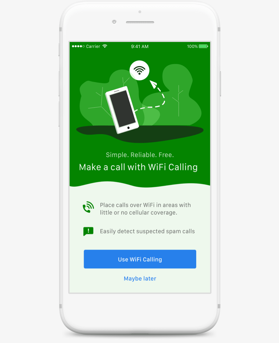 Grasshopper offers WiFi Calling