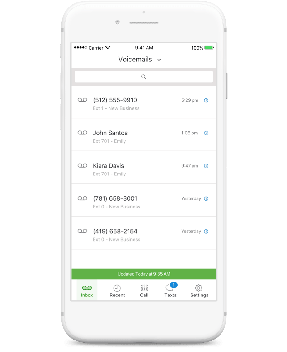Receive Important Voicemails & Faxes | Grasshopper Free Trial
