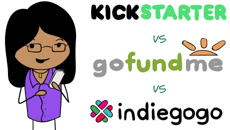 Kickstarter vs. GoFundMe vs. Indiegogo - Crowdfunding Platforms Comparison