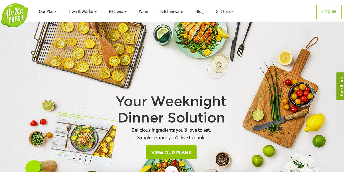 hellofresh small business website