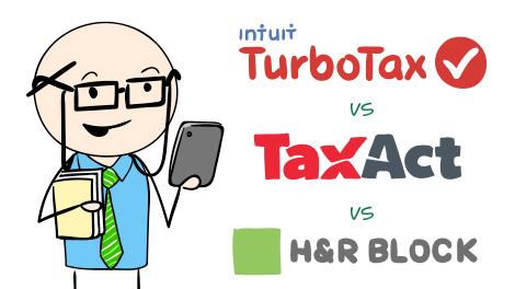 Tax Software - TurboTax vs H&R Block vs TaxAct