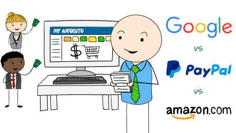 Google vs. PayPal vs. Amazon