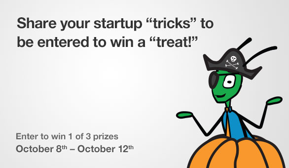 GARY the Grasshopper Prizes for Halloween