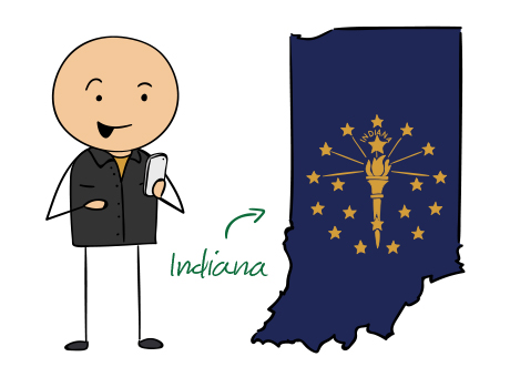 Indiana (IN) Phone Numbers - Local Area Codes 219, 260, 317, 574 ...
