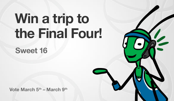 Win a Trip to the NCAA Final Four with Grasshopper