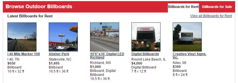 billboardsforsale